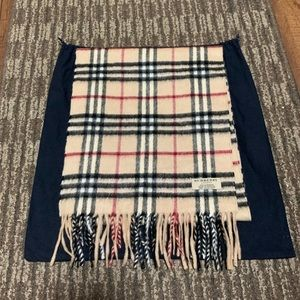 Authentic Burberry Classic Cashmere Scarf